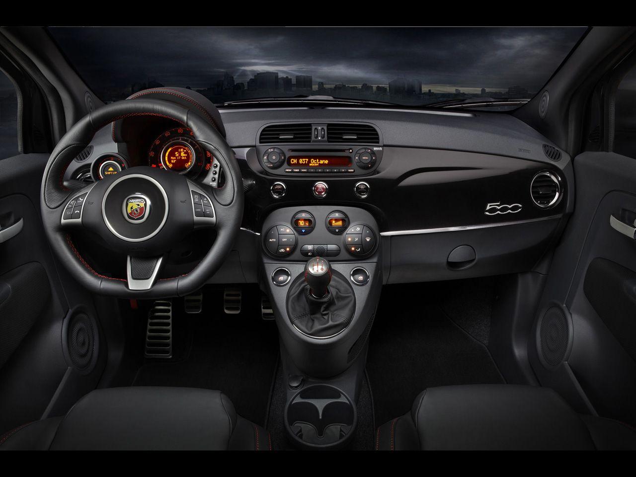 2013 Fiat 500 Abarth And 500c Abarth Dashboard 1280x960