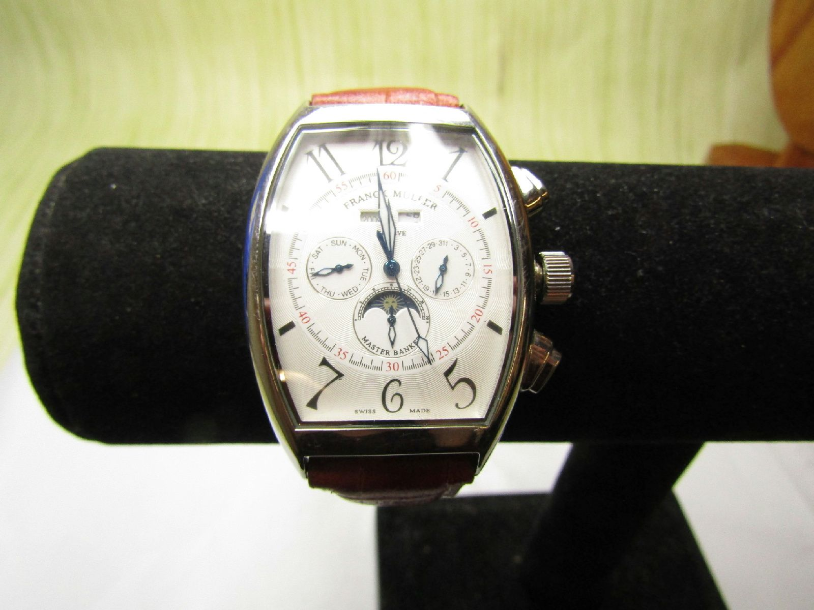 fast delivery various design cheap for discount Franck Muller Geneve Master of Complications No. 344 Men's ...