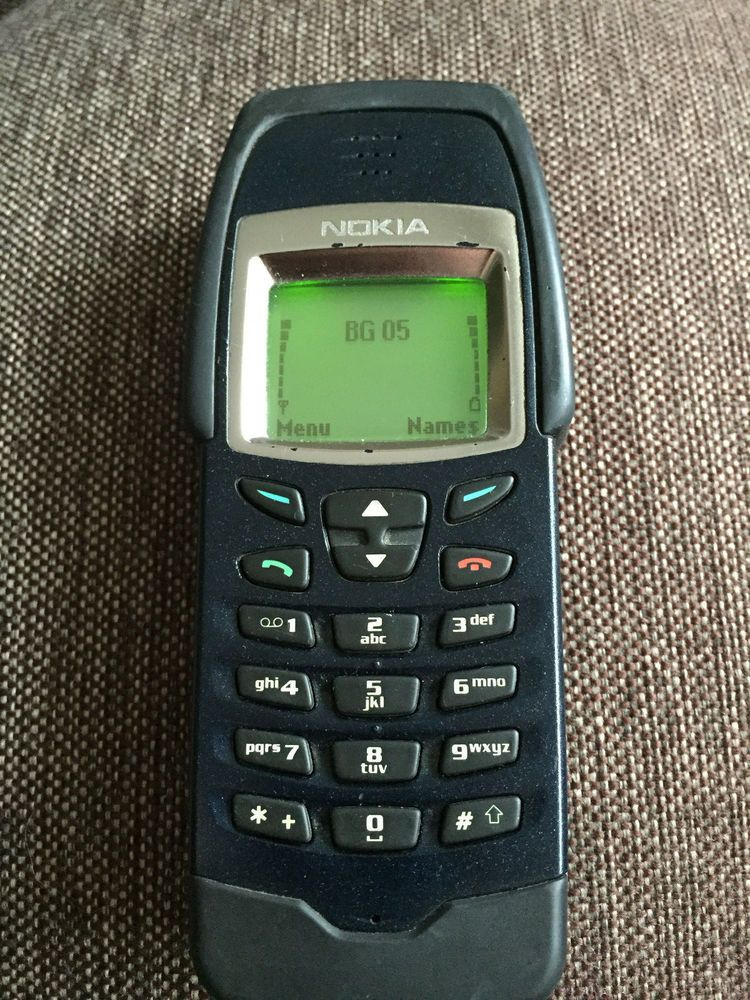 Nokia 6250 Rugged Shockproof Unlocked Gsm Phone Vintage Collectible