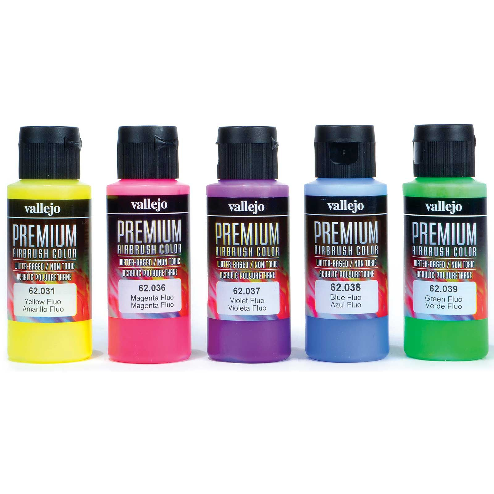 Acrylicos Vallejo Fluorescent Colors Premium Model Paint Set 2 Fl Oz Bottles 5 Colors Hobby Lobby Crafts Art And Hobby Best Hobbies For Men