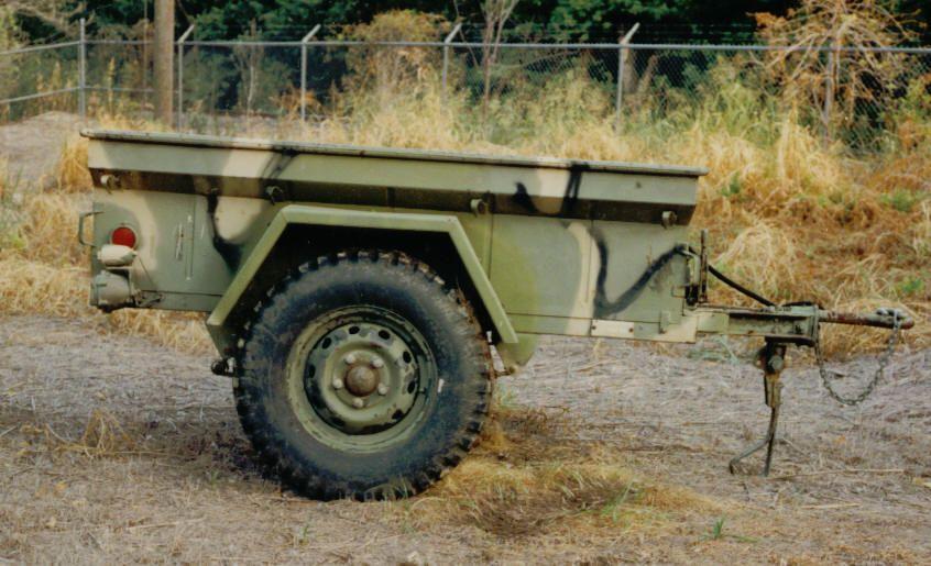 Military Trailer Overlanding Camper Caravan Off Road