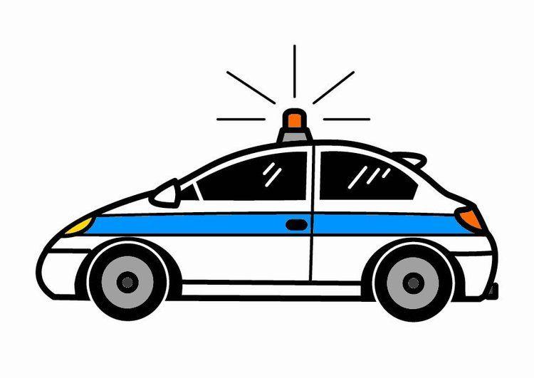 Polizeiauto   Crafts   Pinterest   Polizeiautos, Abbildungen und ...