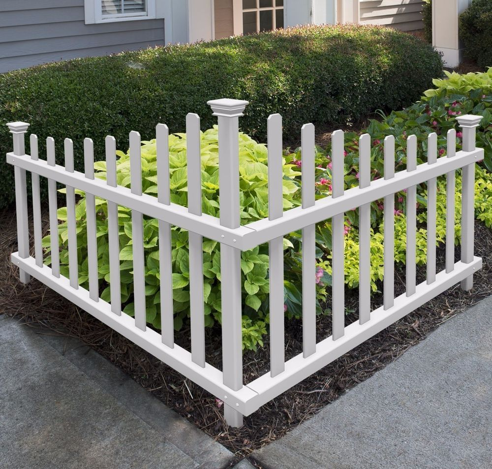 """""""Love my corner picket fence! Adds so much to my landscape"""