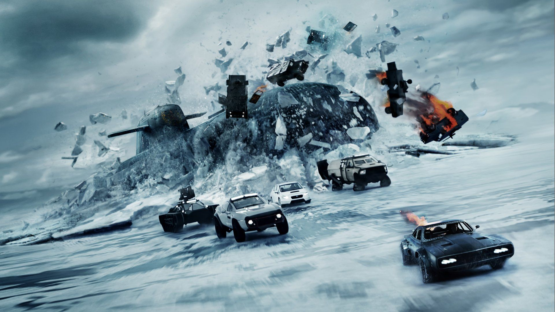 Movie The Fate Of The Furious Fast Furious Car Submarine The