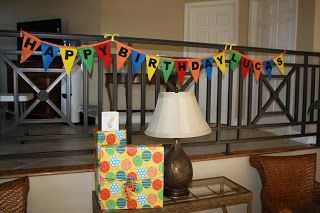 Felt Birthday Banner