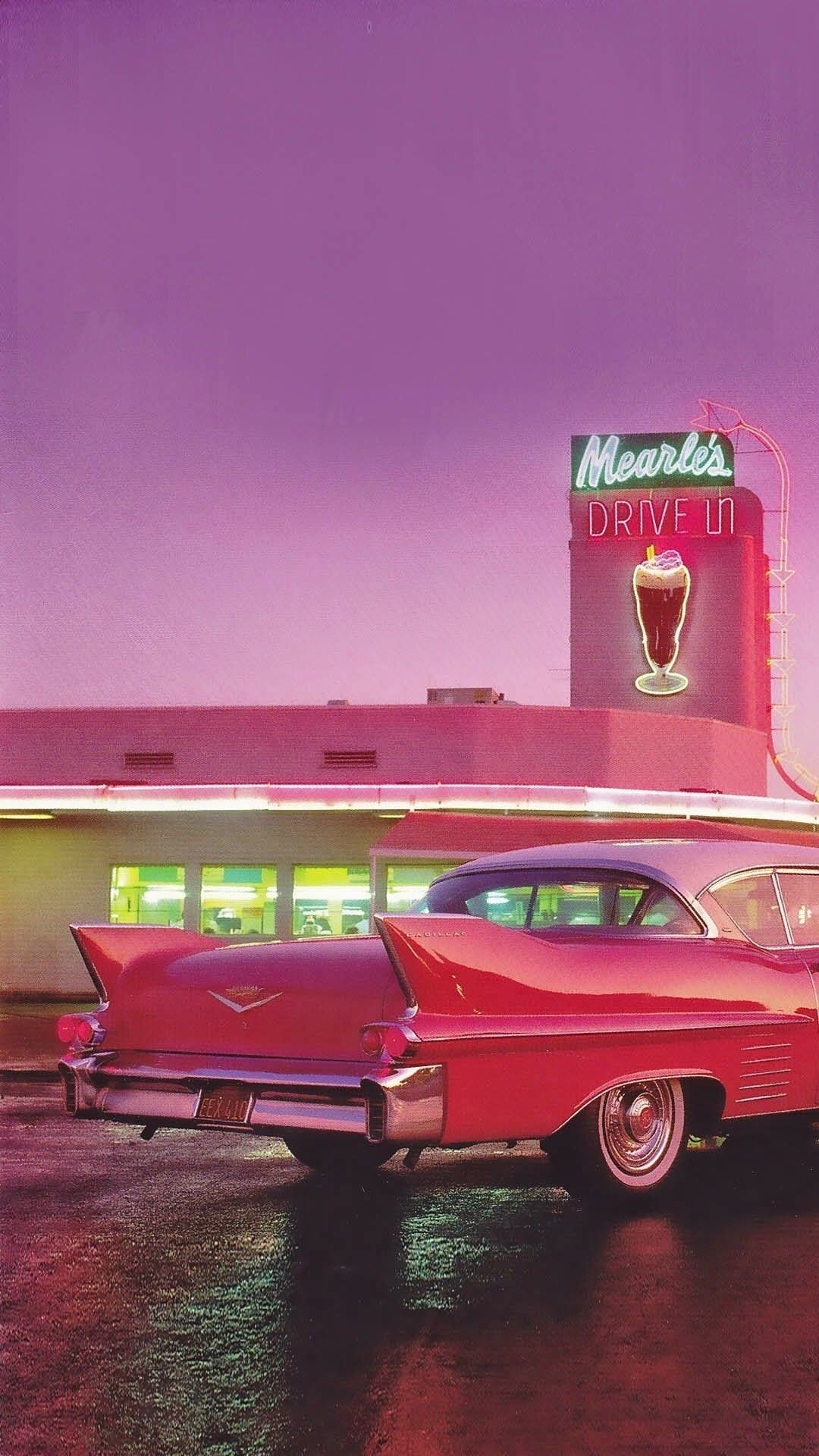 37+ 50S Diner Wallpapers on WallpaperPlay #retrovintage