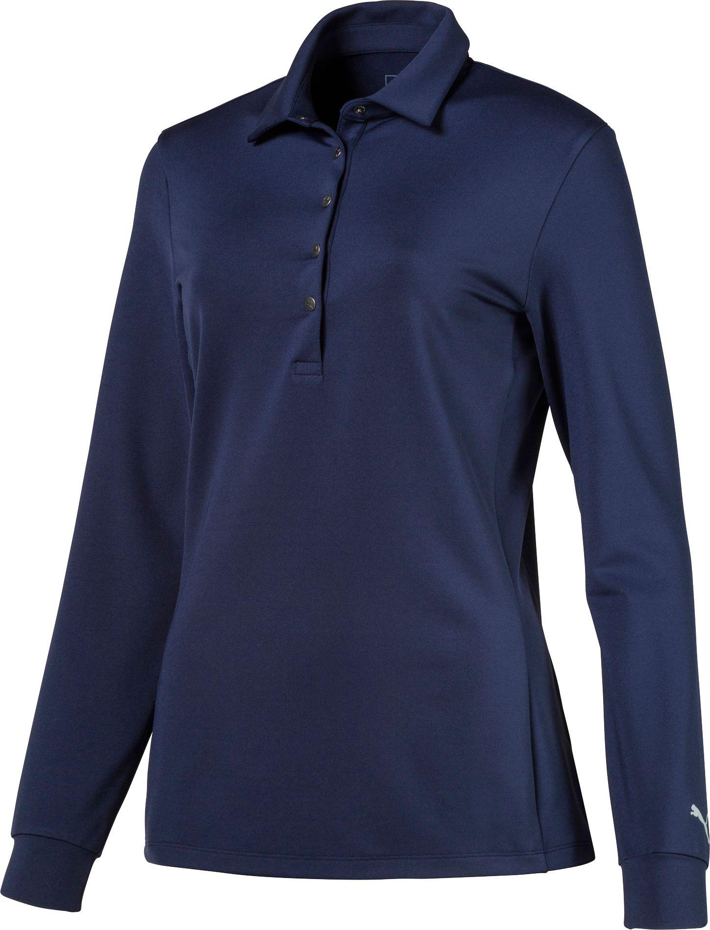 1298be10cc50 Puma Women s Long Sleeve Golf Polo