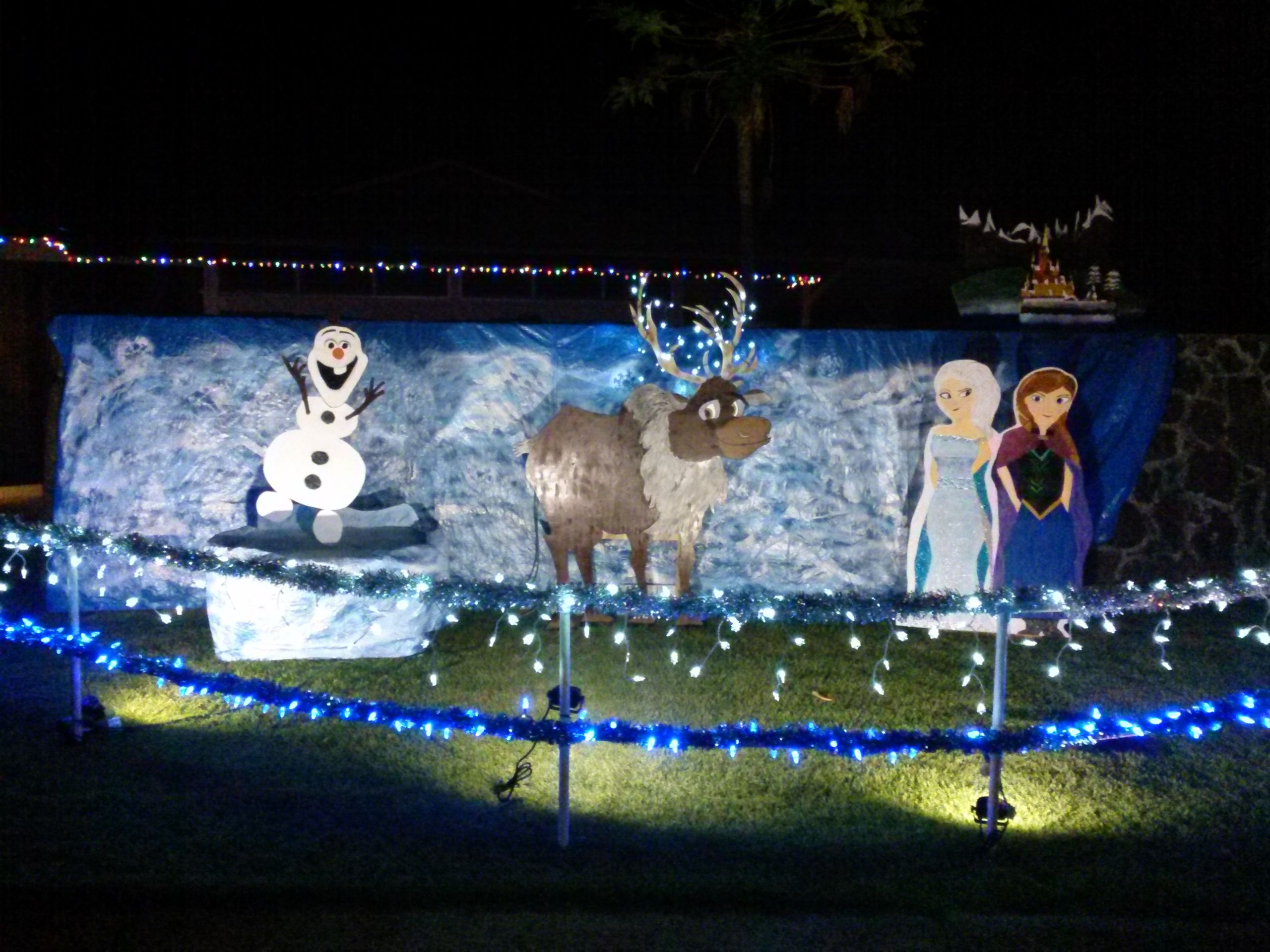 Outdoor Christmas Props Outdoor Christmas Decorations Yard Winter Wonderland Christmas Outdoor Christmas