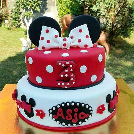 Minnie mouse cake ❤