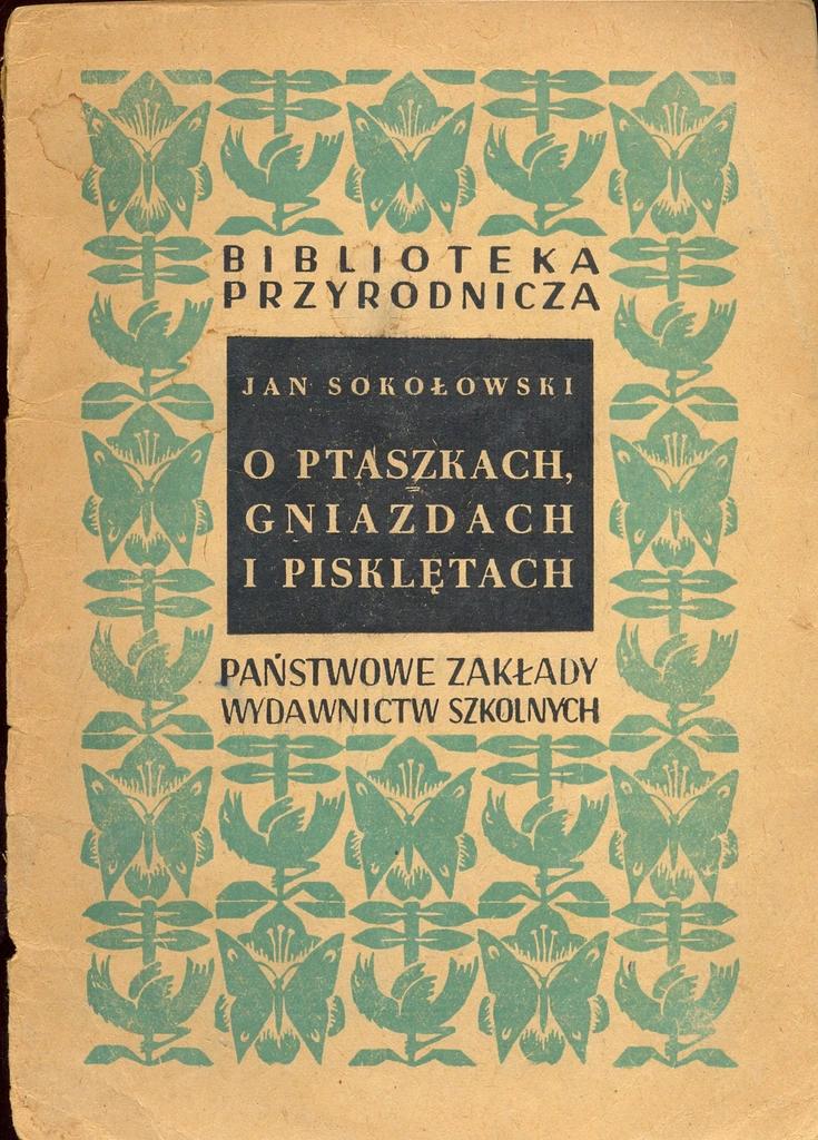 O Ptaszkach Gniazdach I Piskletach Book Cover Books Cover