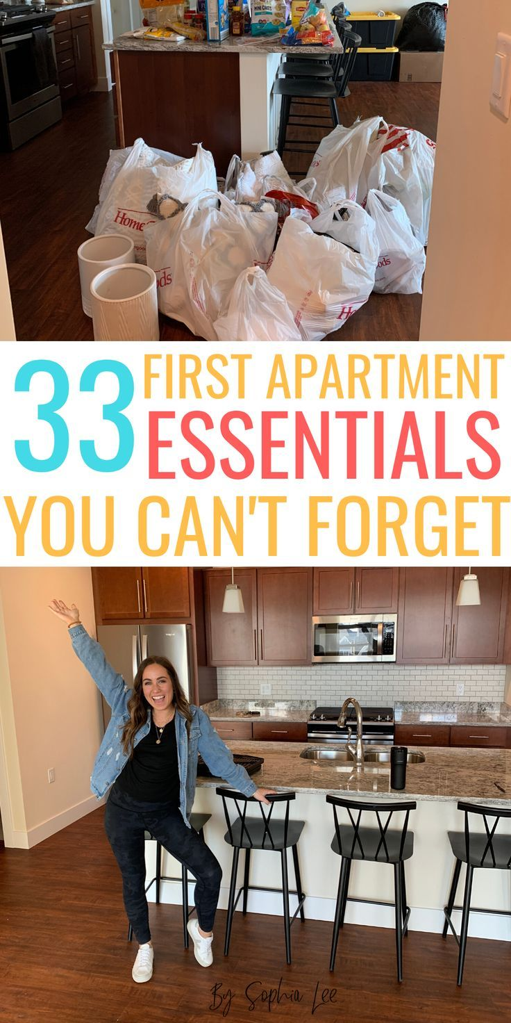This first apartment checklist will help you so much moving. It is perfect for first apartment decorating, first apartment decorating on a budget, and apartment decor