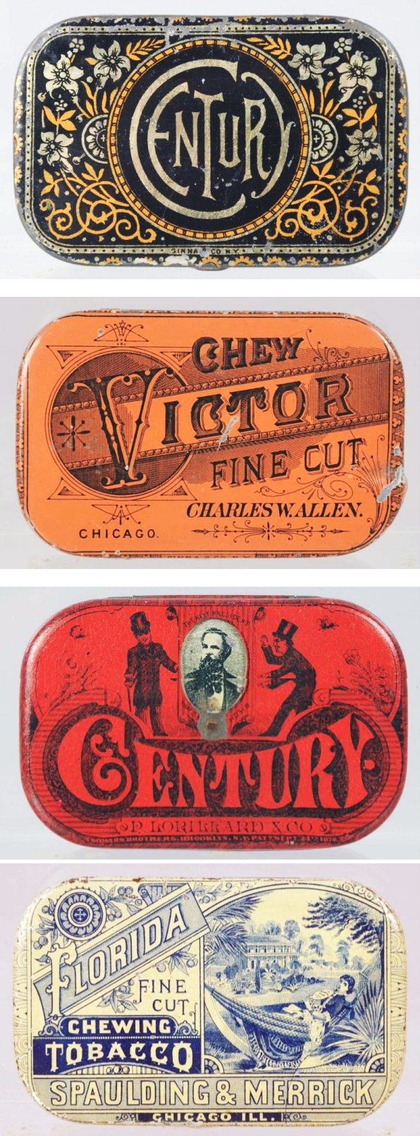 Antiguas latas de tabaco #lettering #diseño