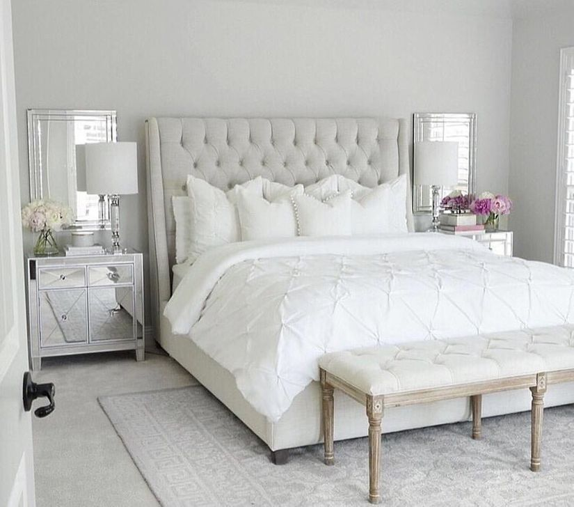 99 Rustic Master Bedroom Design Ideas | White bedroom ...