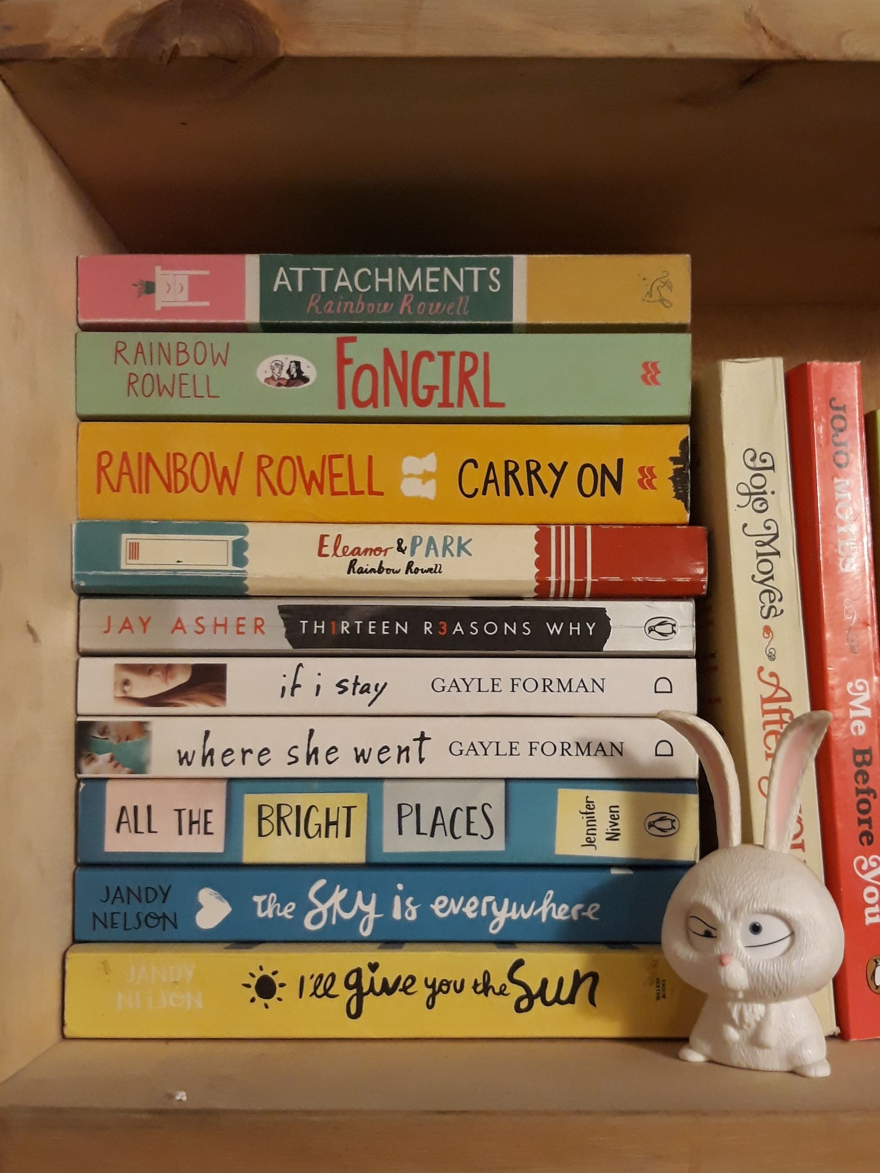 How many of these adorable ya novels have you read my