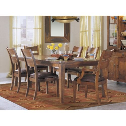 Urban Craftsman Dining Table And 4 Side Chairs Hom Furniture