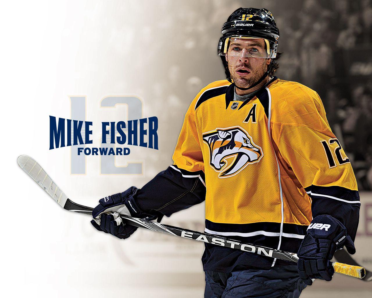Mike Fisher Hockey Fisher Nashville Predators Motorcycle Jacket