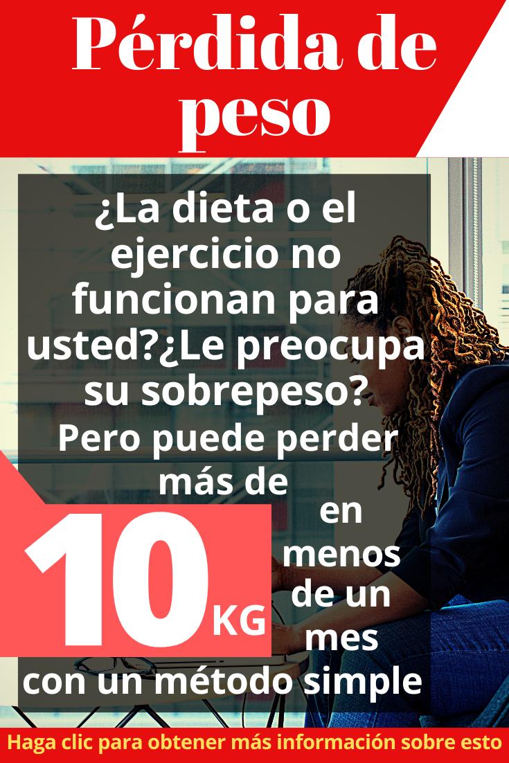 Método De Pérdida De Peso Rápido Y Sencillo Para España Perder Peso Pastillas Para Adelgazar Metodos Para Adelgazar
