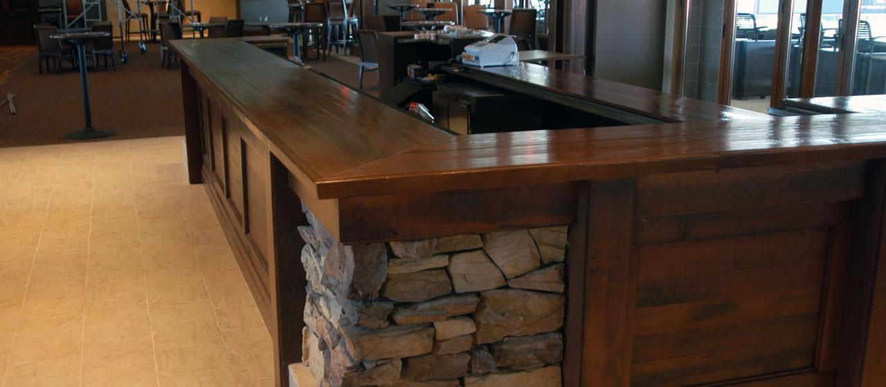 Attractive Reclaimed Antique Wood Counter Tops,Table Tops And Bar Tops