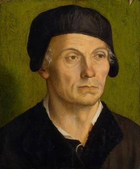 Portrait of a beardless man  around 1531   by George Pencz