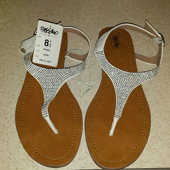 Sandals White sequence, sandles. Mossimo Supply Co Shoes Sandals