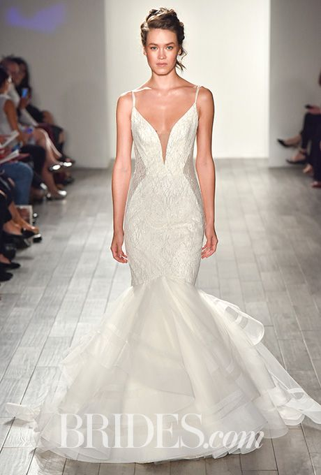Brides Lazaro Wedding Dresses