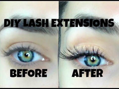 7d3c65033d2 Hey guys, welcome back to my channel so I have a little bit of a diferent  video for you guys today. I know that lash extensions are super popular and  I ...