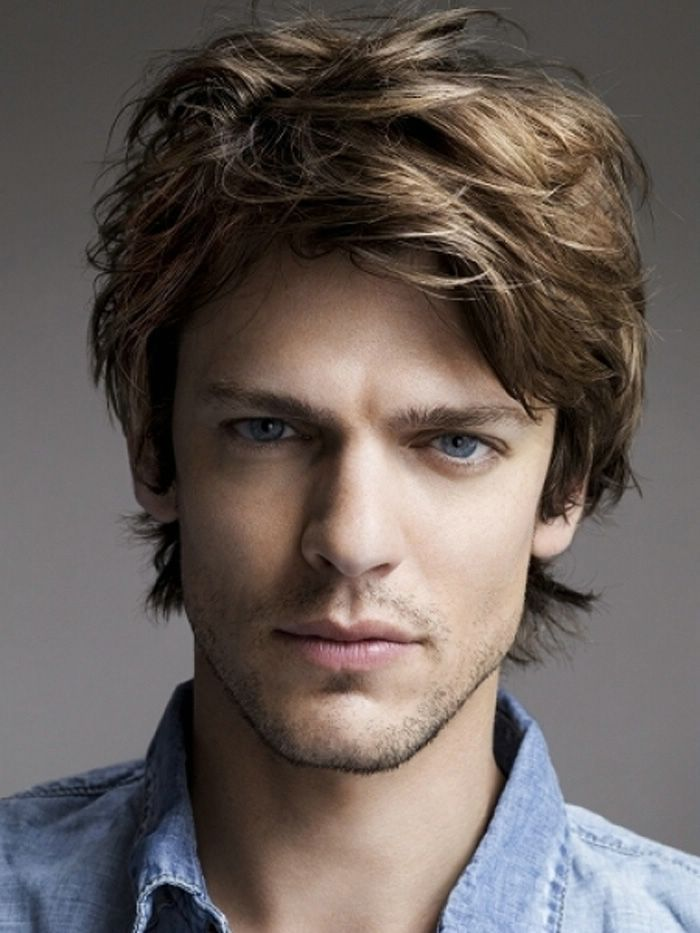Short To Medium Length Hairstyles For Men With Thick Hair Easy Curly 2014 Hairs Black