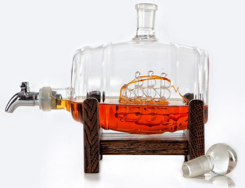 Robot Check Liquor Dispenser Whiskey Barrel Liquor