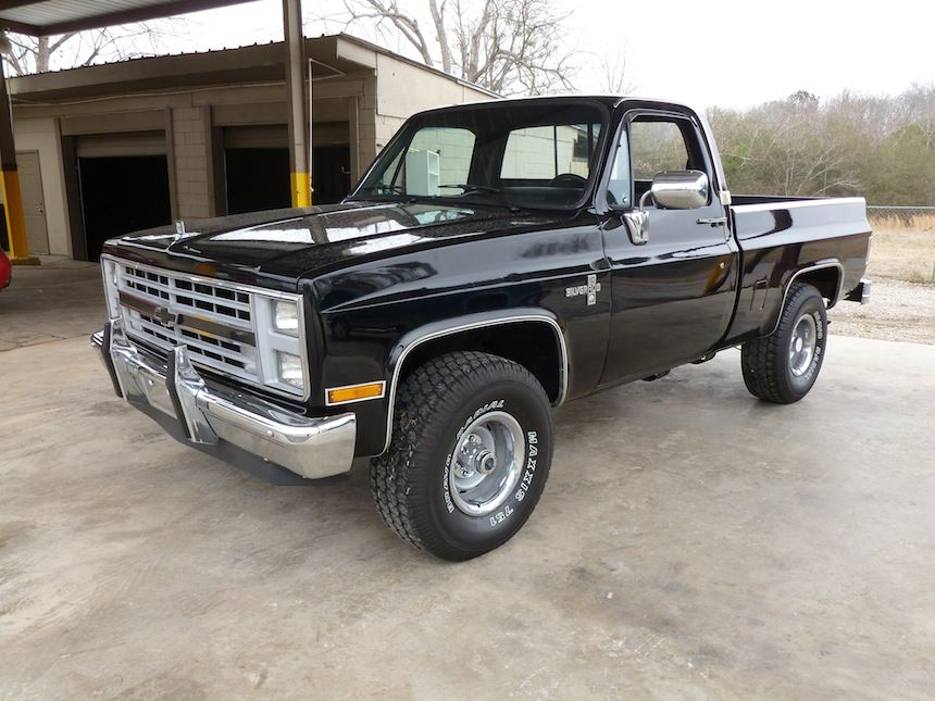 Black Beauty :) 87' Chevy Silverado | On the move! | Pinterest ...