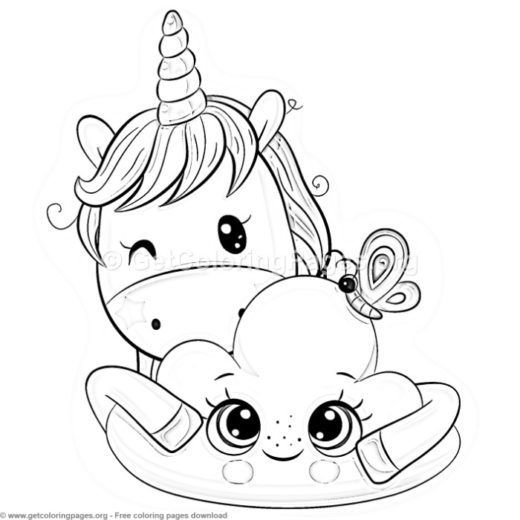 unicorn coloring pages super coloring  page 8