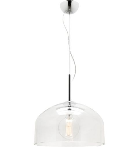 mona glass pendant light e27 clear glass - Clear Glass Pendant Light