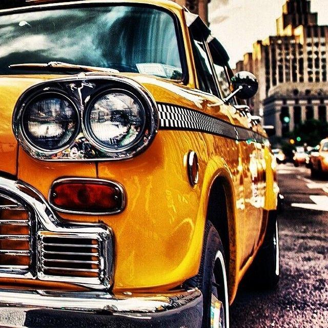 That yellow taxi!