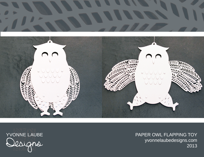 Paper Owl Toy