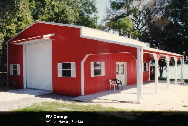 Garage with rv storage airplane hangars rv garages and for Rv storage buildings with living quarters