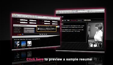 Check out a sample Interactive Resume