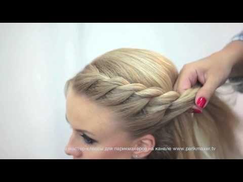 Back To School Hairstyles For Everyday Braided Half Updo And Ponytail Party Hair Tutorial Youtube Pricheski Pletenye Pricheski Uroki Po Ukladke Volos