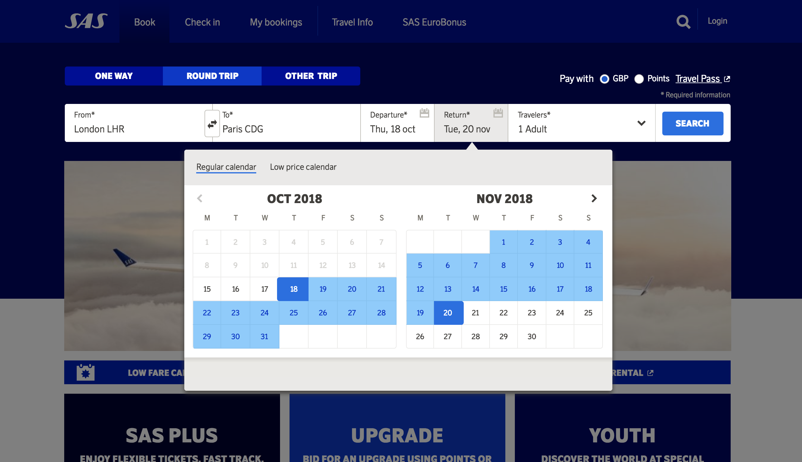 Highlights Selected Period Traveling By Yourself Sas Airlines Airlines