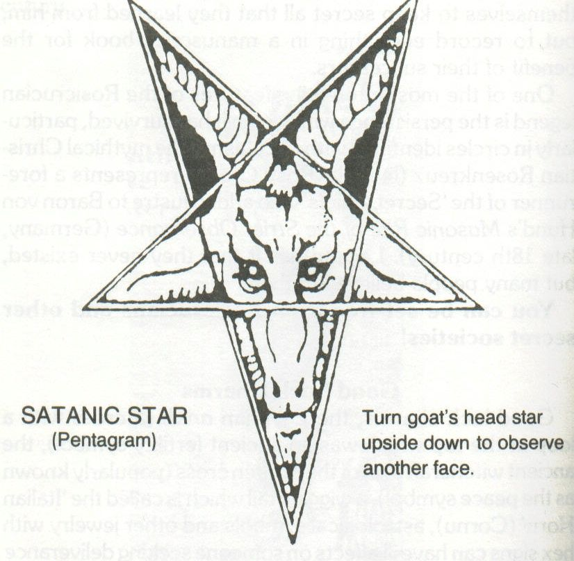 Satanic Symbols And Meanings Similarone Of Common Dream Symbols