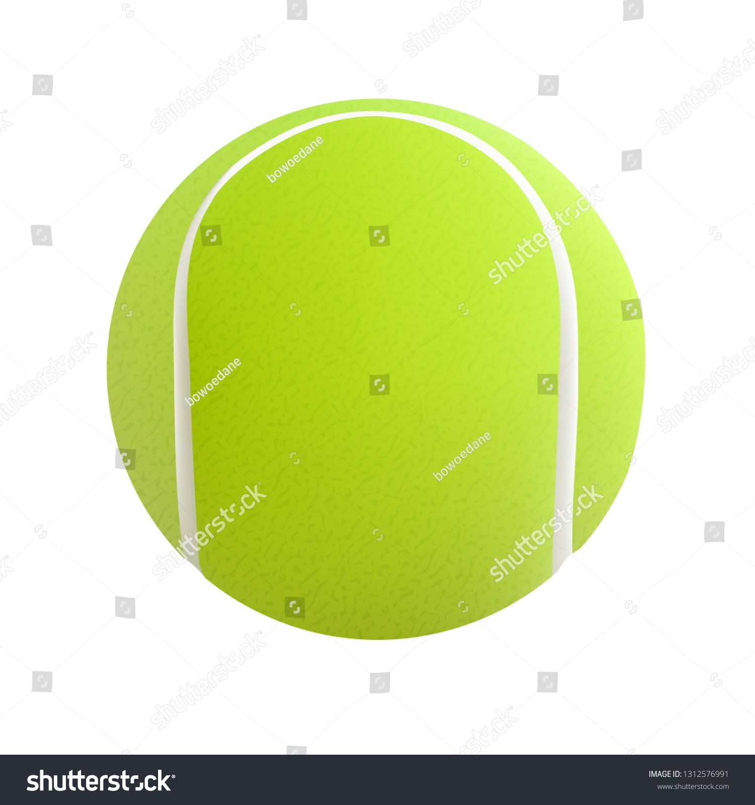 Vector Tennis Ball Green Isolated On White Background Ad Affiliate Ball Tennis Vector Green Tennis Ball White Background Ball