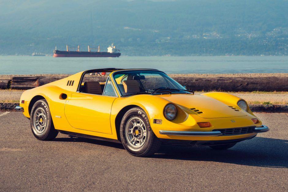 Classiche Certified 1974 Ferrari Dino 246 Gts Classic Cars
