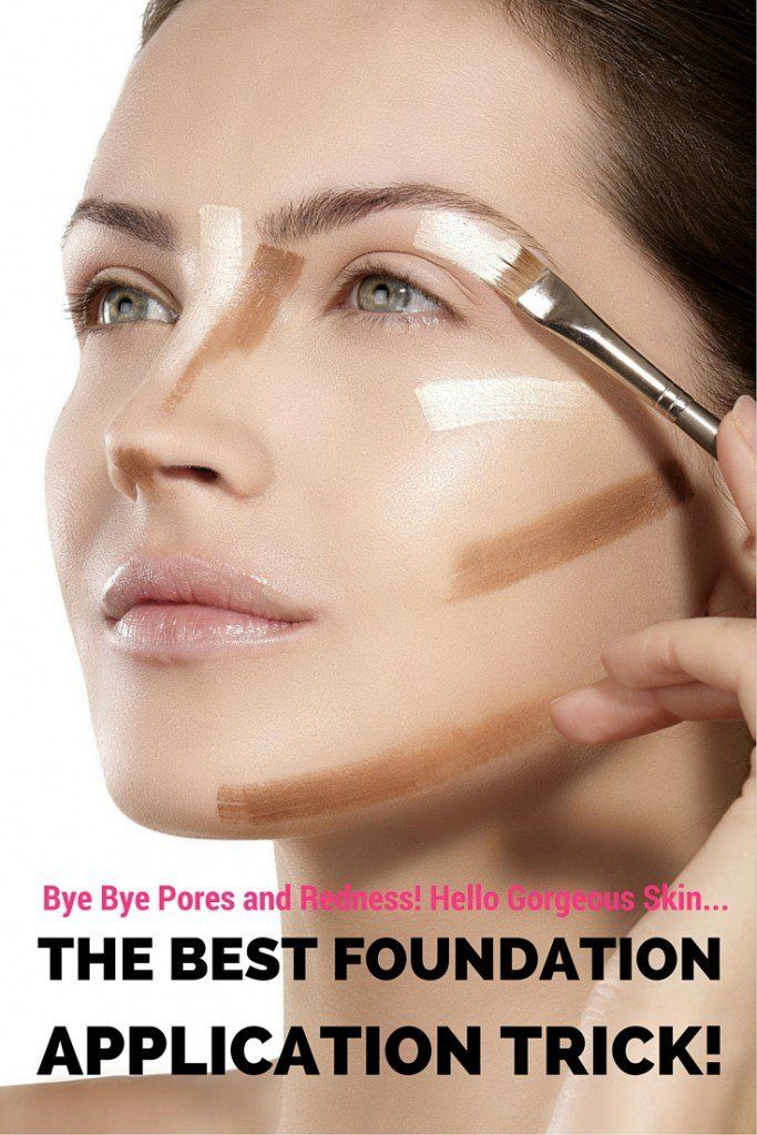 The Best Foundation Application Trick for Smooth, Glowing ...