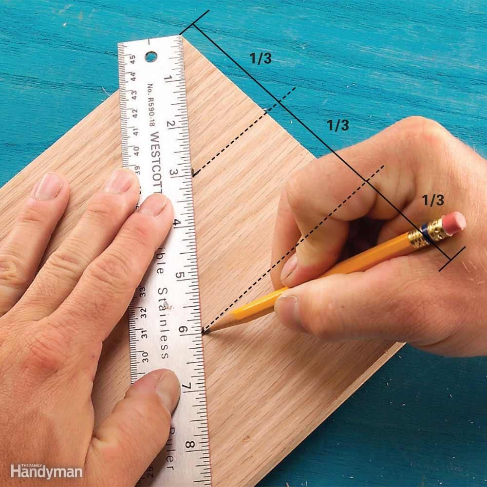 Slantruler Board Divider  Want To Divide A Board Or Sheet Of Plywood  Perfectly