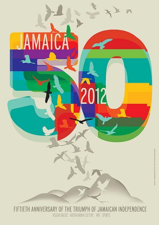 Jamaican Poster Idea Colours