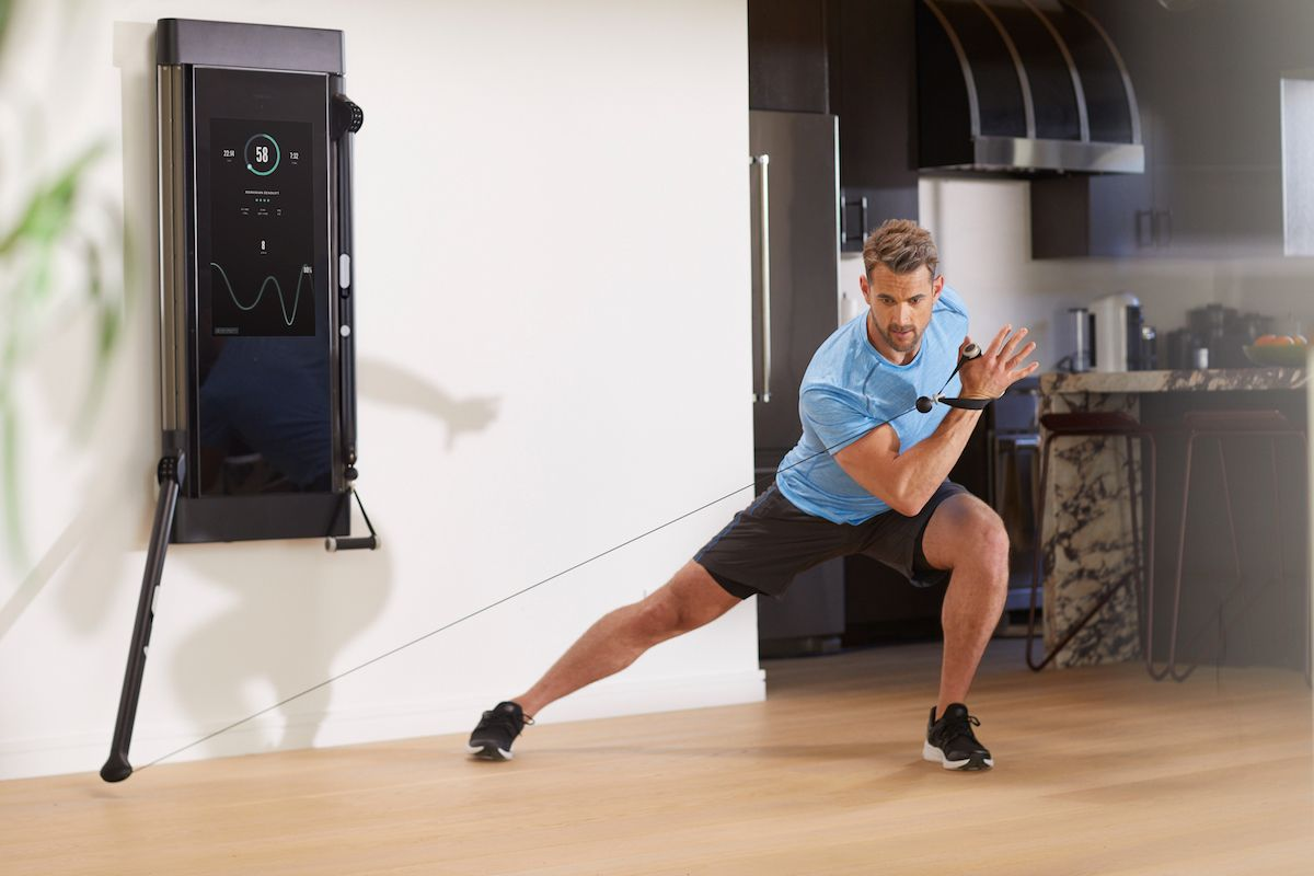 Tonal Is The World S Most Intelligent Fitness System It Is A Digital Weight Machine With Personal Training Built In Workout Machines At Home Gym Gym