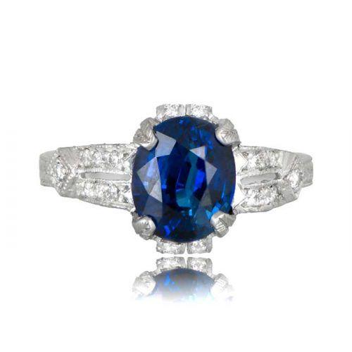 Engagement Rings Newcastle: Estate Engagement Ring, Vintage