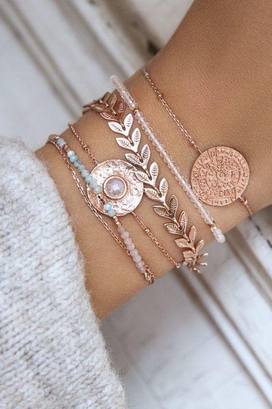 Photo of Modeschmuck für Frauen Online-Shop Halsketten Armbänder und Mode Ringe #acce …