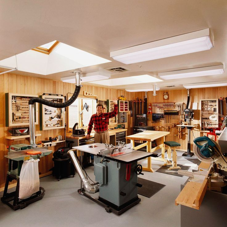 Workshop Layout Design Garage Ideas Organization