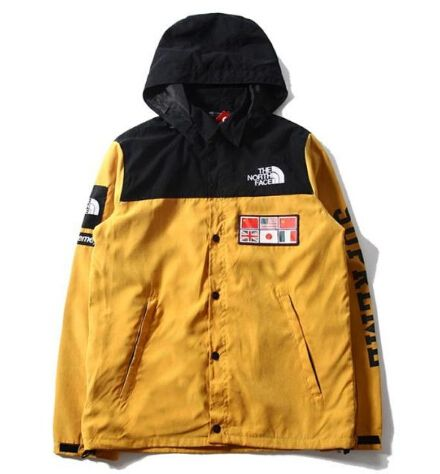 Supreme X The North Face Expedition Jacket Yellow North Face Jacket Jackets Coach Jacket