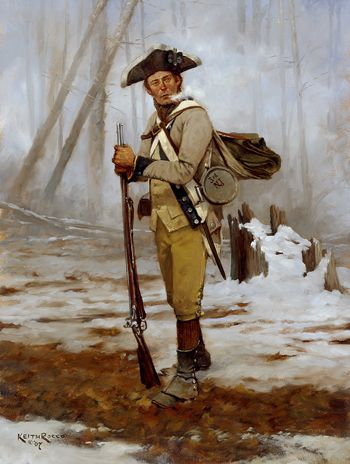 3rd New Jersey Battalion 1776-Keith Rocco
