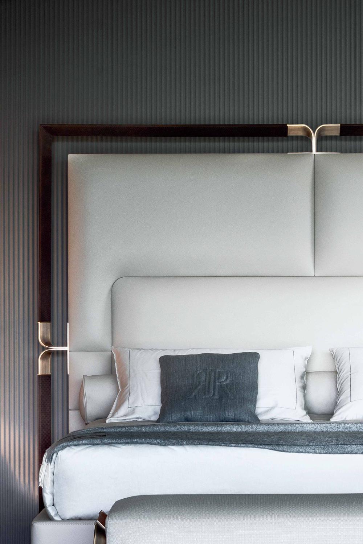 Rugiano in 2020 Hotel room interior, Bed design, Bedroom